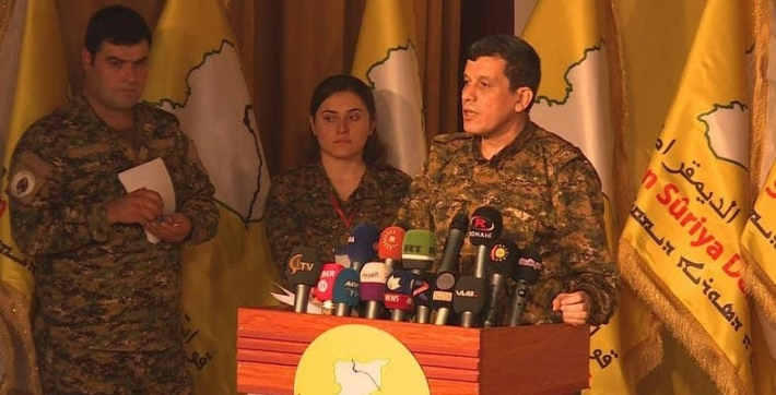 YPG Fighters Already Left Syria's Safe Zone Under Ceasefire Deal: SDF Commander