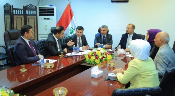 Kurdistan Parliament Delegates Meet with Iraqi Counterparts in Baghdad
